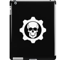 Gears of War - C. O. G. Emblem (White Logo) iPad Case/Skin