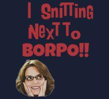 Snitting Next to Borpo! Kids Tee