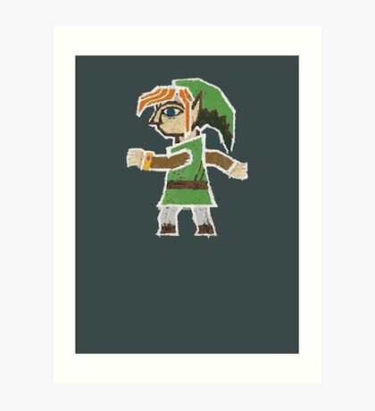 Link Between Two Worlds stuck on your shirt Art Print