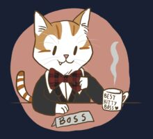 Kitty Boss [Redbubble Art Party] One Piece - Long Sleeve