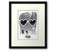 Lolita-Black Version (SK Films) Framed Print