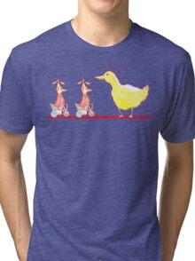 Ducks in a Row Tri-blend T-Shirt