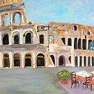 View of the Coliseum, Rome by Teresa Dominici