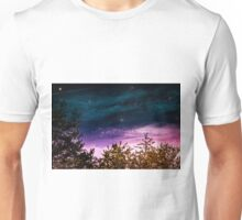 Blue Purple Universe Unisex T-Shirt