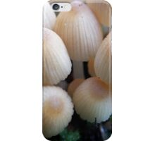 Tiny toadstools iPhone Case/Skin