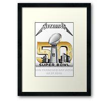 SUPER BOWL 50 Framed Print
