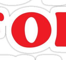 Vote For Kylo Sticker