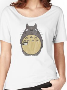 totoro coffee Women's Relaxed Fit T-Shirt