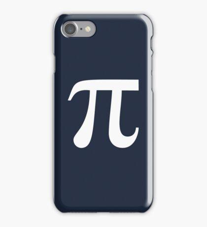 Pi (white) iPhone Case/Skin