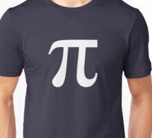 Pi (white) Unisex T-Shirt