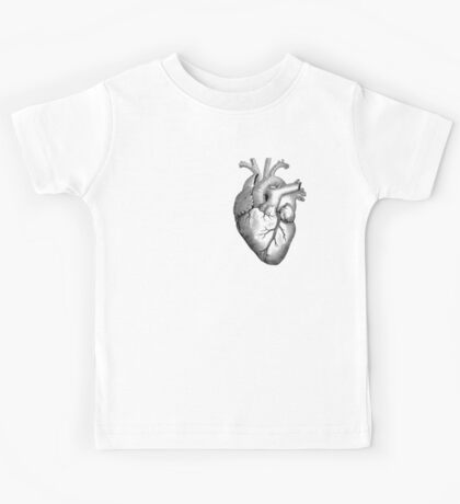 Anatomical Heart Kids Tee