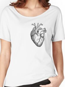 Anatomical Heart Women's Relaxed Fit T-Shirt