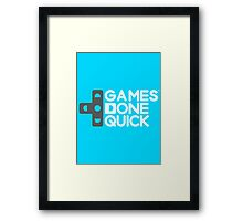 Games Done Quick (GDQ) Framed Print