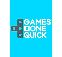 Games Done Quick (GDQ) Photographic Print