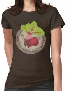 The Office: Schrute Farms Womens Fitted T-Shirt