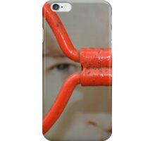 When James Bond Wears Red Glasses iPhone Case/Skin