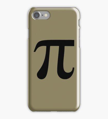 Pi (black) iPhone Case/Skin