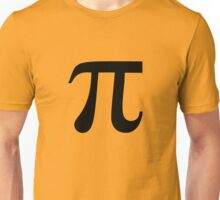 Pi (black) Unisex T-Shirt