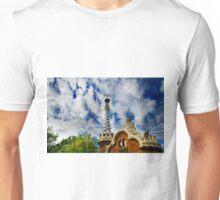 Gingerbread House Barcelona Unisex T-Shirt