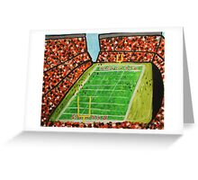 Cleveland Stadium Greeting Card