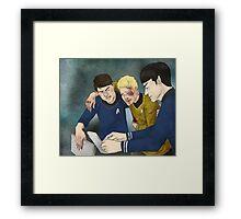 Dammit Spock Framed Print
