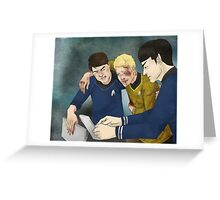 Dammit Spock Greeting Card