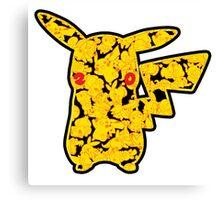 Pokemon 20th Year Anniversary pikachu Canvas Print