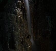 Cave Waterfall by Zvonko Jerkovic