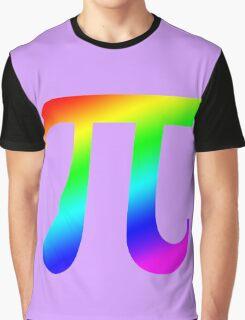Pi (rainbow) Graphic T-Shirt
