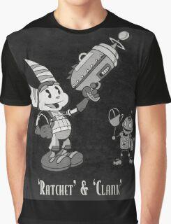 0033 - Retro Ratchet & Clank Graphic T-Shirt