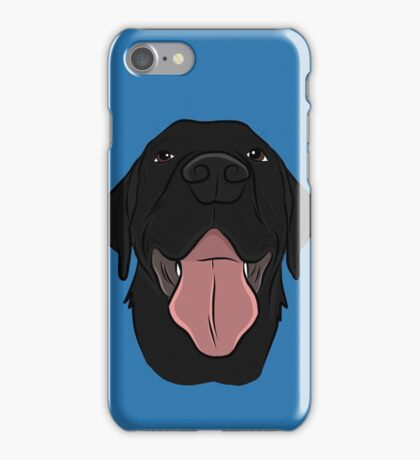 Happy Black Lab iPhone Case/Skin