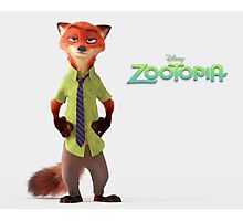Nick Wilde Zootopia - Case & More Photographic Print