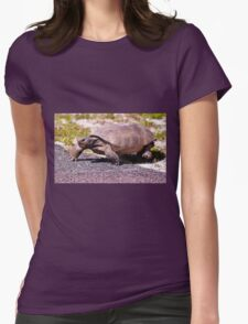 Mr. Slow Womens Fitted T-Shirt