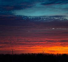 Sunrise In The Country by Denise Grier