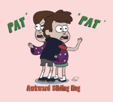 Awkward Sibling Hug (Gravity Falls) Kids Tee