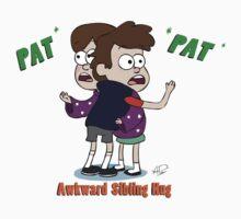 Awkward Sibling Hug (Gravity Falls) Baby Tee