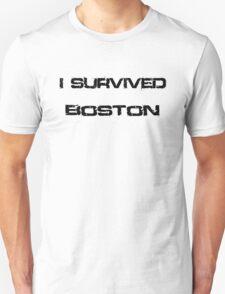 I Survived Boston T-Shirt