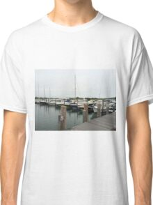 Boating in East Hampton, NY Classic T-Shirt
