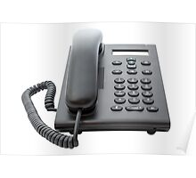 VoIP Phone with LCD Display Poster