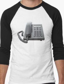 VoIP Phone with LCD Display Men's Baseball ¾ T-Shirt