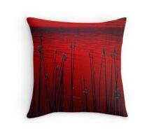 Reeds ! Throw Pillow
