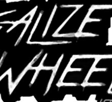 Legalize wheelies Sticker