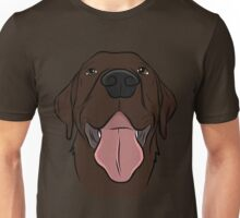 Happy Chocolate Lab  Unisex T-Shirt