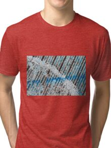 The Intersection of St. Louis and Blues Tri-blend T-Shirt