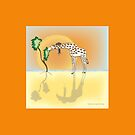 Ludo and his Giraffe by Diana-Lee Saville