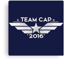 Team Cap 2016 Canvas Print