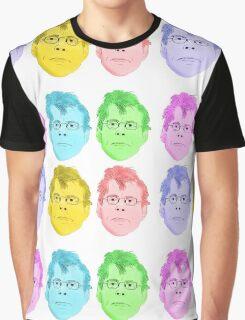 Stephen KING Pop Art Graphic T-Shirt