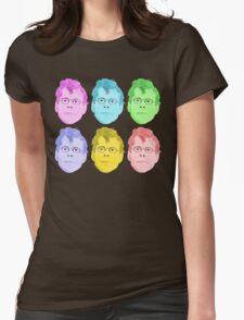 Stephen KING Pop Art Womens Fitted T-Shirt