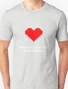 Undertale - Determination - Black T-Shirt