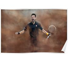 Novak Celebration Poster